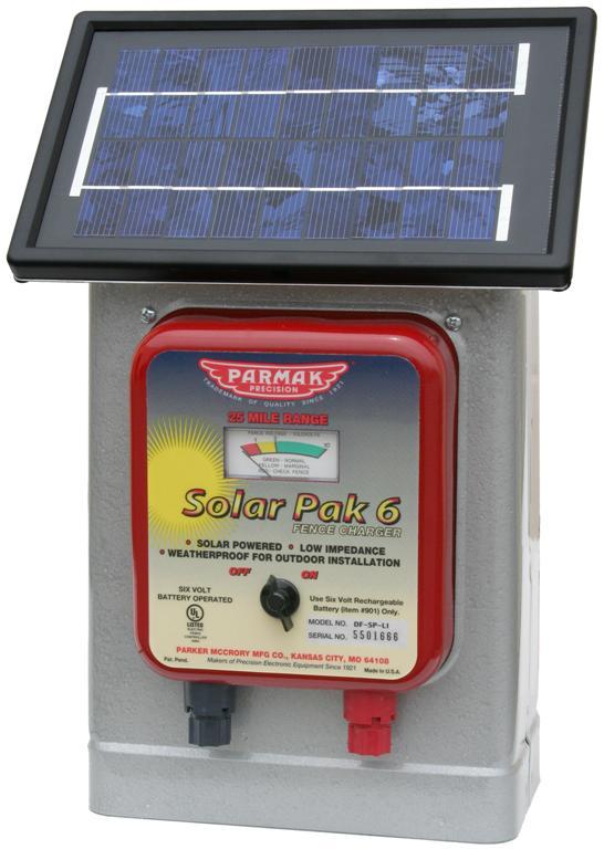 Parmak Deluxe Field Solar Pak 6 Review Position
