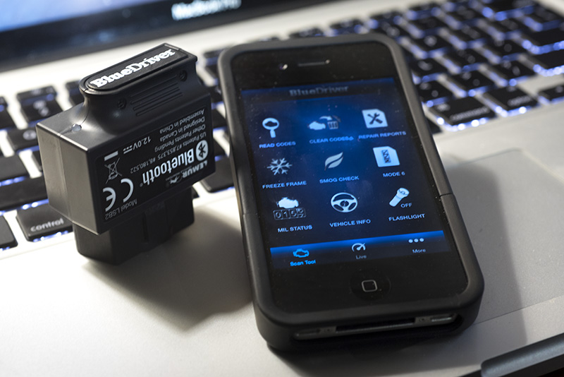 BlueDriver Bluetooth Professional OBDII Scan Tool - Review Position