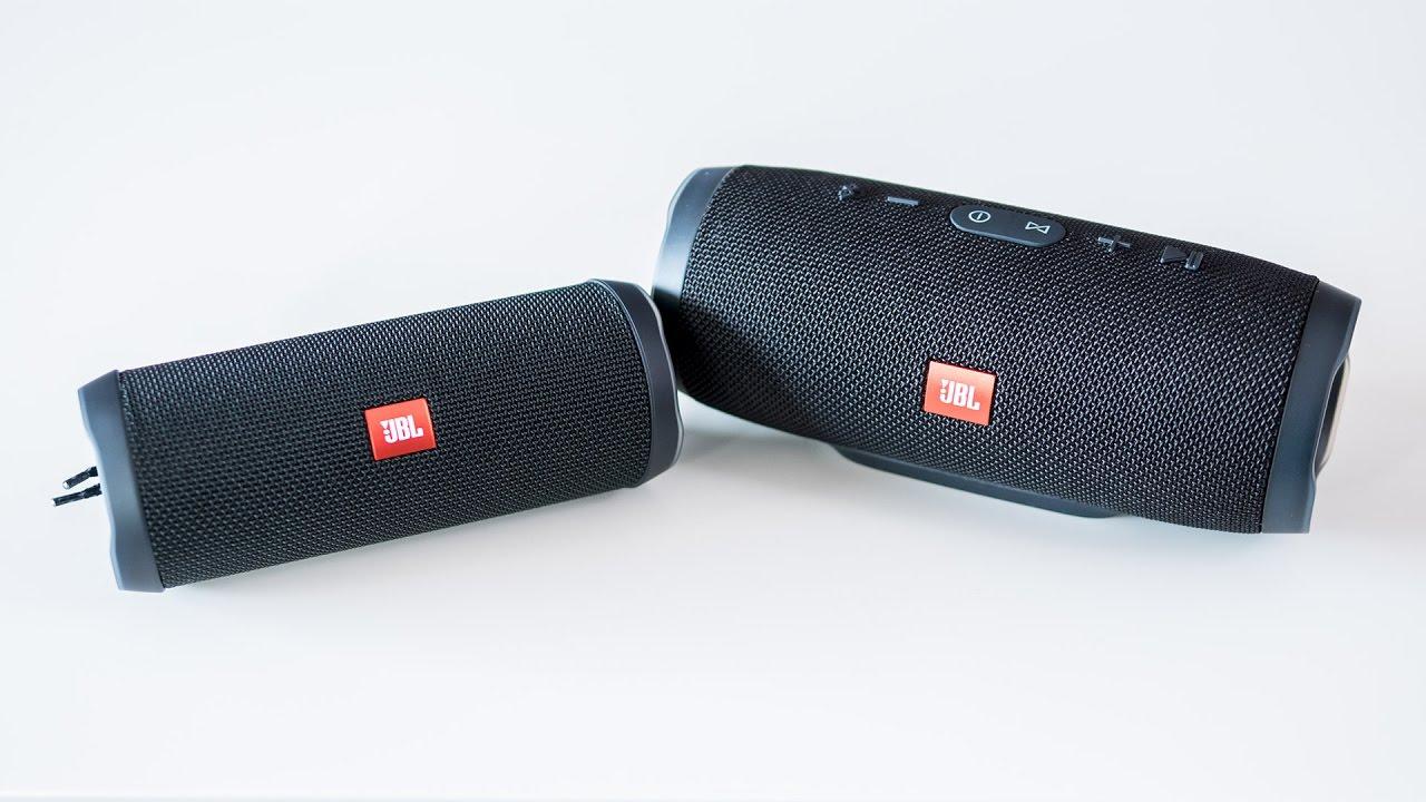 Jbl Charge 3 Vs Flip 4 Comparison And Verdict Speaker Waterproof