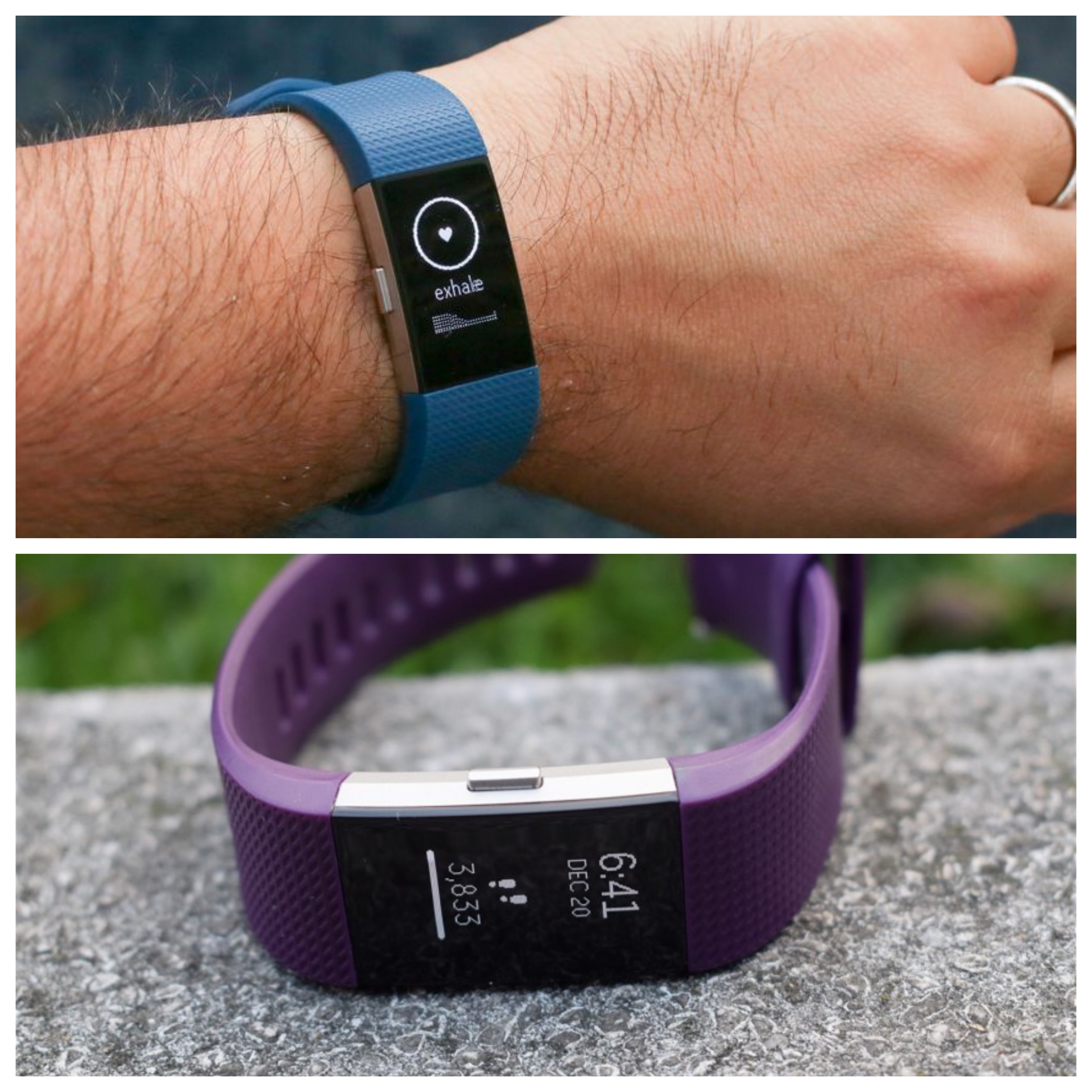 Fitbit Charge 2 and 3 - Review Position