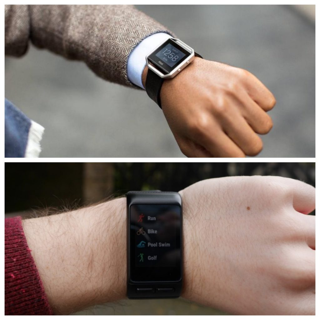 Fitbit Blaze vs Garmin Vivoactive HR - Review Position